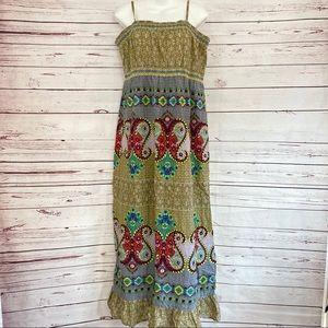 World Market Maxi Sun Dress
